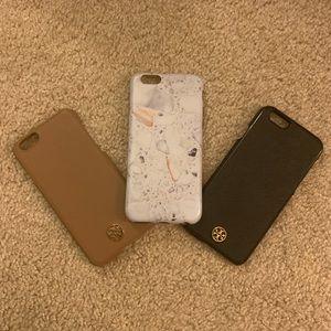 Bundle of Tory burch iPhone 6 / 6s case